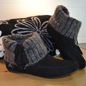 Airwalk brand slippers.